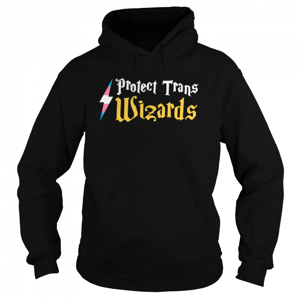 Harry Potter Protect Trans Wizards  Unisex Hoodie