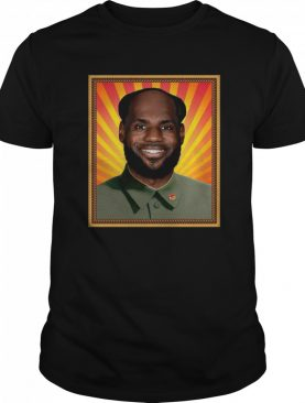 Lebron James' China Mao Zedong shirt
