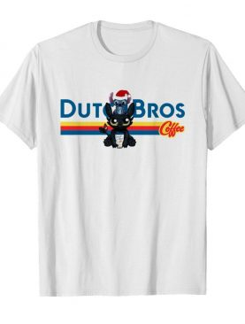 Stitch And Toothless Dutch Bros Coffee Christmas shirt