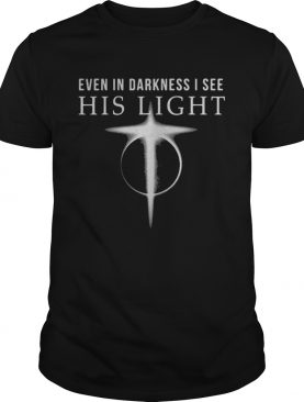 even in darkness i see his light shirt