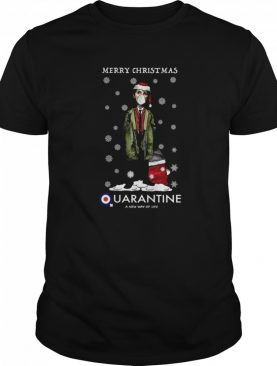 Merry Christmas Quarantine A New Way Of Life shirt