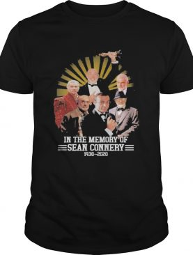 In the memory of sean connery 1930 2020 vintage shirt