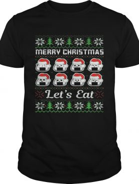 Merry Christmas Lets Cats Hat shirt
