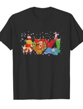 Pooh and friend joy christmas shirt