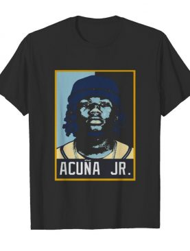 Ronald Acuna Jr. Baseball Player Art shirt