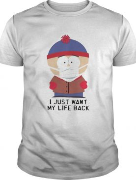 South Park Stickers Whatsapp I Just Want My Life Back shirt