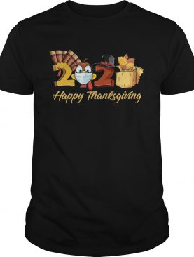 Turkey Face Mask 2020 Happy Thanksgiving shirt