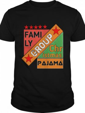 Family Group Christmas Pajama shirt