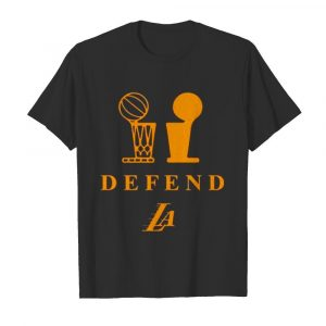 Lakers Trophy Defend shirt